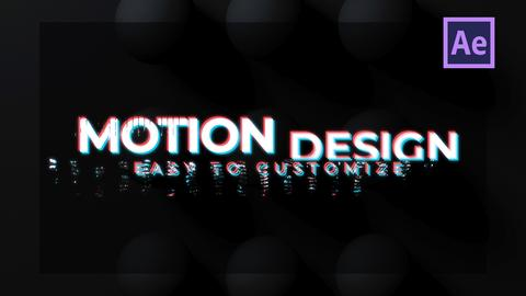 Digital Titles After Effects Template