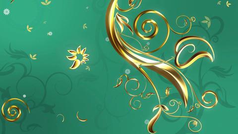 Gold Vine (1) Animation
