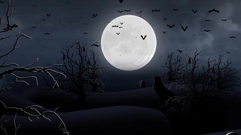 Moon Cemetery (2) Animation