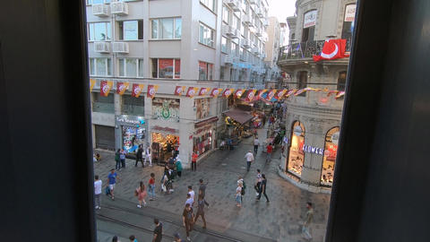 istiklal street Istanbul Live Action