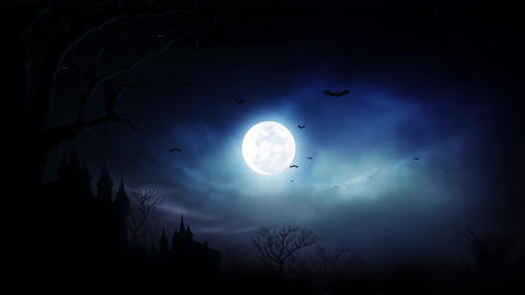 Spooky Moon (2) Animation