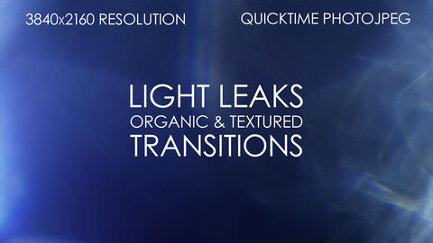 Light Leak Transitions After Effects Template