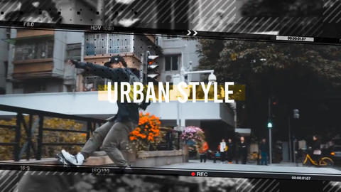Hip-Hop Urban Opener After Effects Template