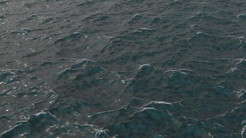 波のイメージCG CG動画