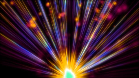 Abstract Rising Particles HD 03 Animation