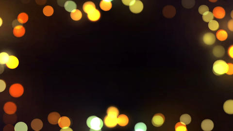 Bokeh Frame Background Loop 01 Animation
