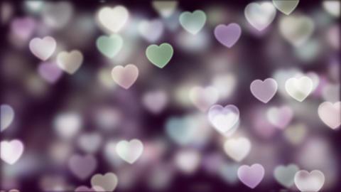 Love Bokeh Background Loop 02 GIF