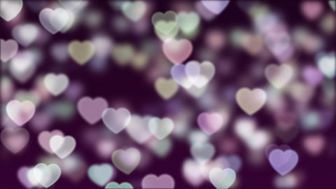 Love Bokeh Background Loop 04 Animation