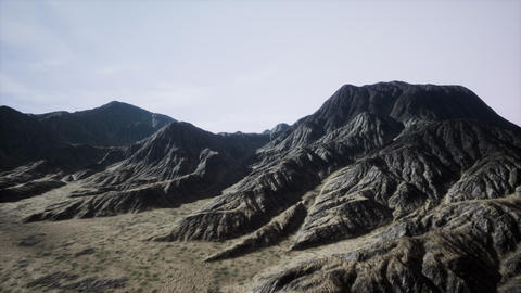 Mountain Landscape in High Altitude Live Action