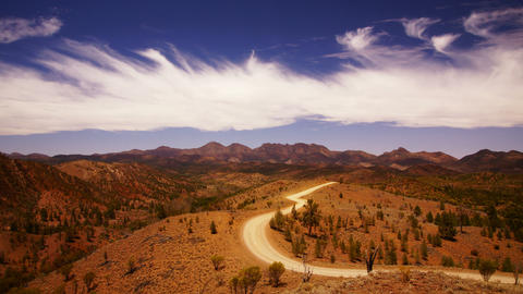 Flinders Ranges Stock Video Footage