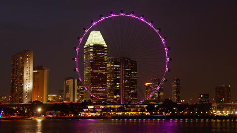 Singapore Flyer Footage