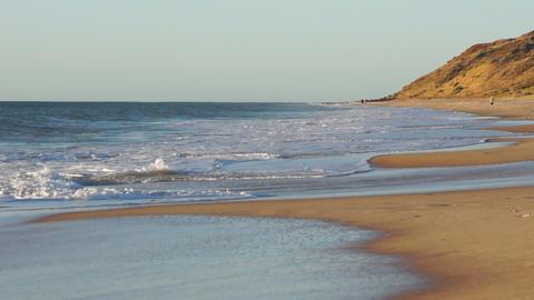 Ocean beach in South Australia Stock Video Footage