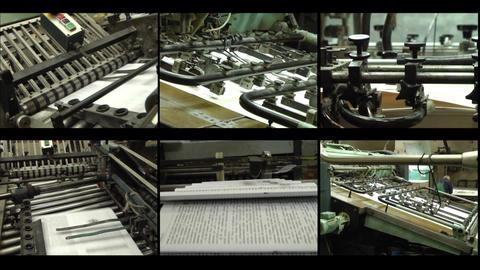 Videowall printing Footage