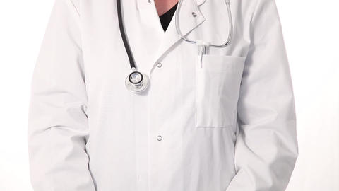Doctor working on a tablet Stock Video Footage