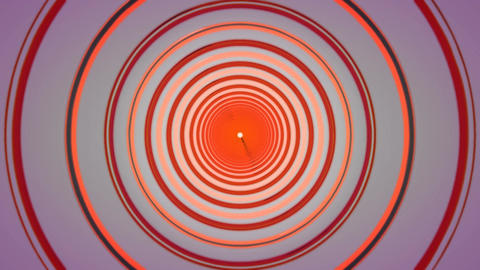 retro ring tunnel Stock Video Footage