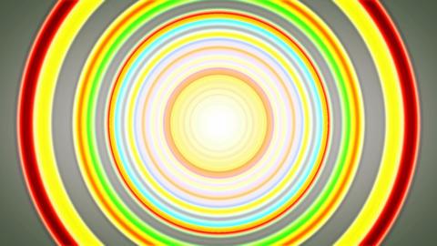 ring retro tunnel Animation