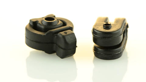 New black rubber car parts Stock Video Footage