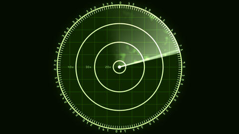 Radar Screen 02 (24fps) Animation