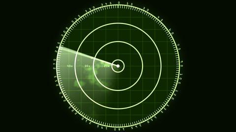 Radar Screen 02 (30fps) Stock Video Footage