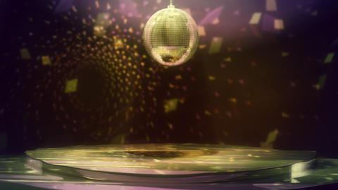 Disco Dance Floor Loop Stock Video Footage