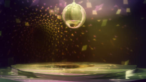 Disco Dance Floor Loop Stock Video Footage