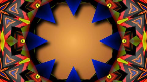 abstract kaleida starlish Animation