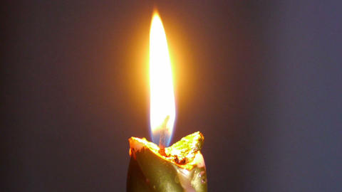 candle flame Stock Video Footage