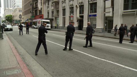 20120501 Occupy LA A 002 Stock Video Footage