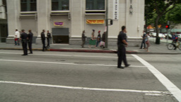 20120501 Occupy LA A 002 Stock Video Footage