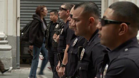 20120501 Occupy LA A 004 Stock Video Footage