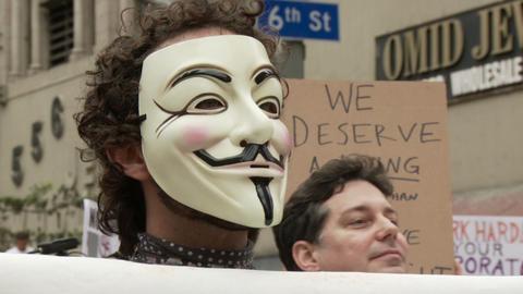 20120501 Occupy LA A 026 Footage