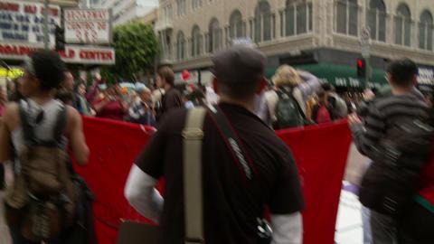 20120501 Occupy LA A 028 Stock Video Footage
