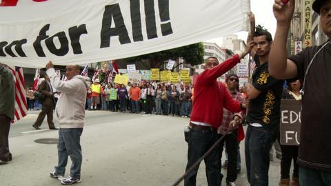 20120501 Occupy LA A 037 Stock Video Footage
