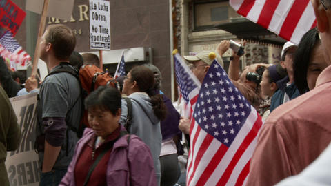 20120501 Occupy LA A 047 Stock Video Footage