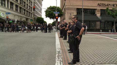 20120501 Occupy LA A 058 Stock Video Footage