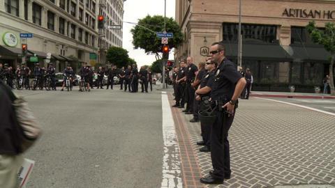 20120501 Occupy LA A 058 Stock Video Footage
