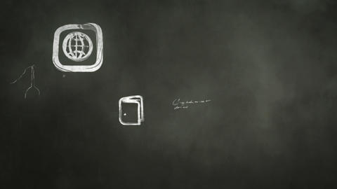 Apps in the Classroom Stock Video Footage