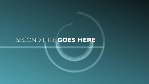 Geometric Circles Intro After Effects Template