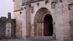 Gothic architecture Cathedral Sé Vila Real Church of Saint Domingos Portugal Footage