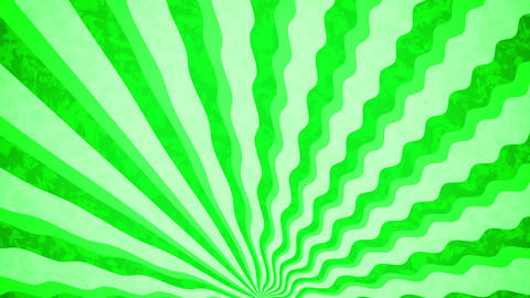 Green Sunbeams grunge background Animation