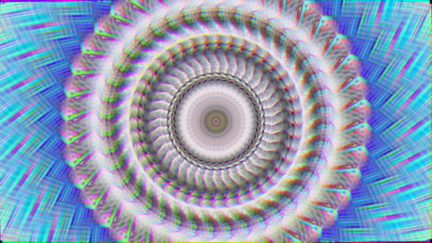 Magical kaleidoscope light leaks iridescent background Footage