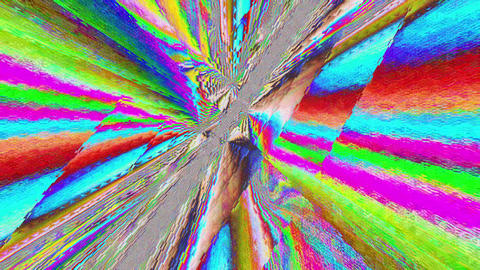 Charming distorted crystal reflections glittering background Footage
