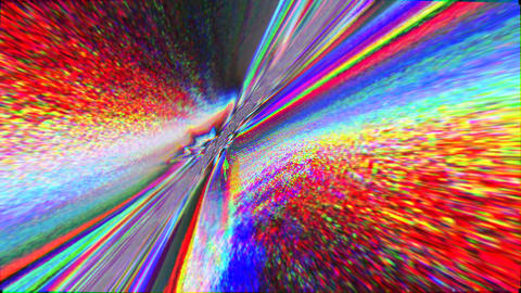 Magical bad trip effect light transformations glittering background Footage