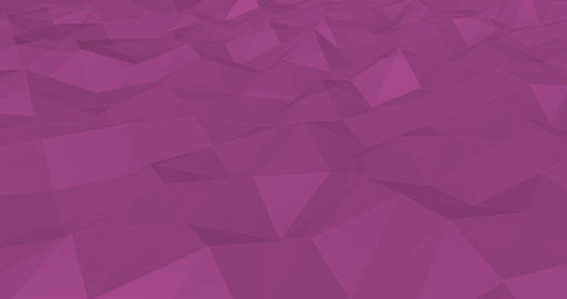 Creative Concept Abstract Background with Crystal Shapes Live Action