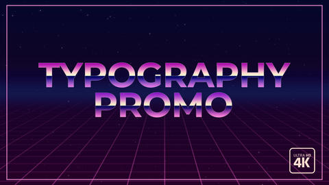 Typography And Stomp Promo 0