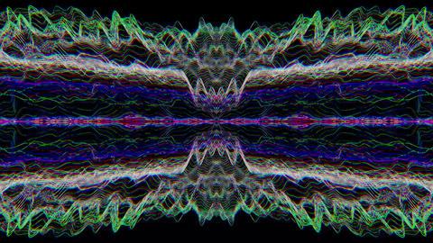 Spellbinding distorted light leaks iridescent background Footage