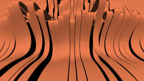 Abstract background with moving lines Animation