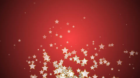 Abstract motion background with stars Stock Video Footage