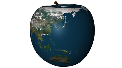 Apple Shared Earth Rotating Animation