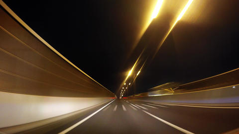 Drive in Saitama from Tokyo Metropolitan Expressway. In the time-lapse video./ Footage
